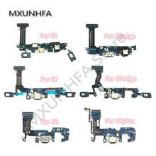 Ładowarka USB stacja do ładowania złącze portu taśma do samsunga Galaxy S6 S7 krawędzi S8 S9 plus G920F G925F G930F G935F G950F G955F