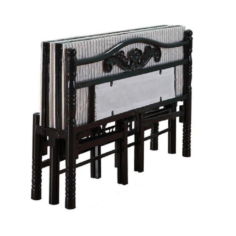 A Castello Single Tempat Tidur Tingkat Modern Matrimonio Literas Room Frame bedroom Furniture Mueble Cama Moderna Folding Bed