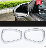 For Jaguar xe xf 2015 2016 Car Styling ABS Matte Chrome Rearview Mirror Frame Cover Trim Sticker Accessories