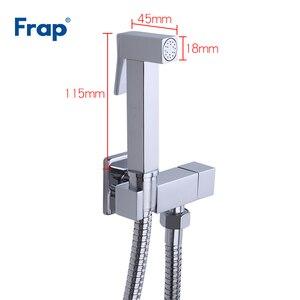 Image 2 - FRAP bide krom bide musluk karıştırıcı el püskürtücü pirinç banyo bide tuvalet muslin duş temiz musluk hijyenik duş
