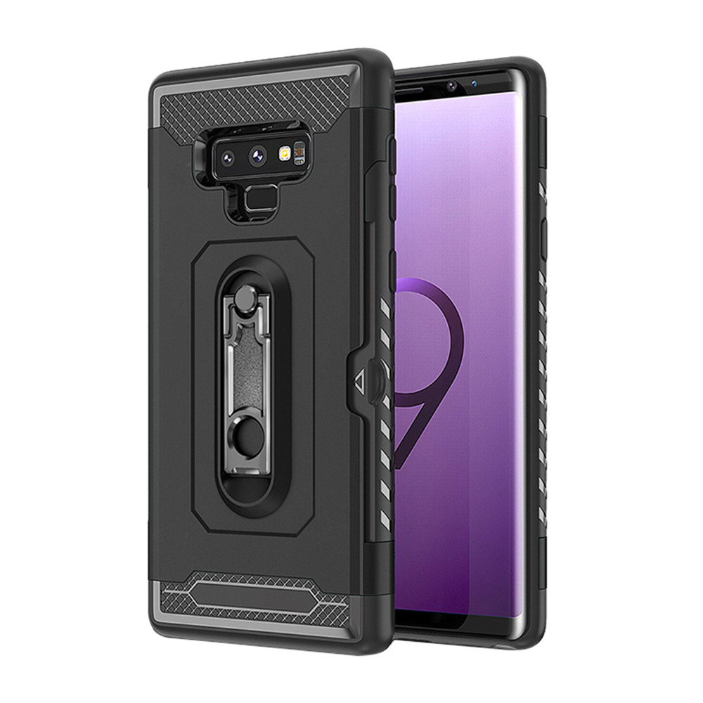 Drop Ship 2019 Newest High Quality Credit Card Slot Wallet Cover Stand Holder Case For Samsung Galaxy Note 9 Causal Fashion1217