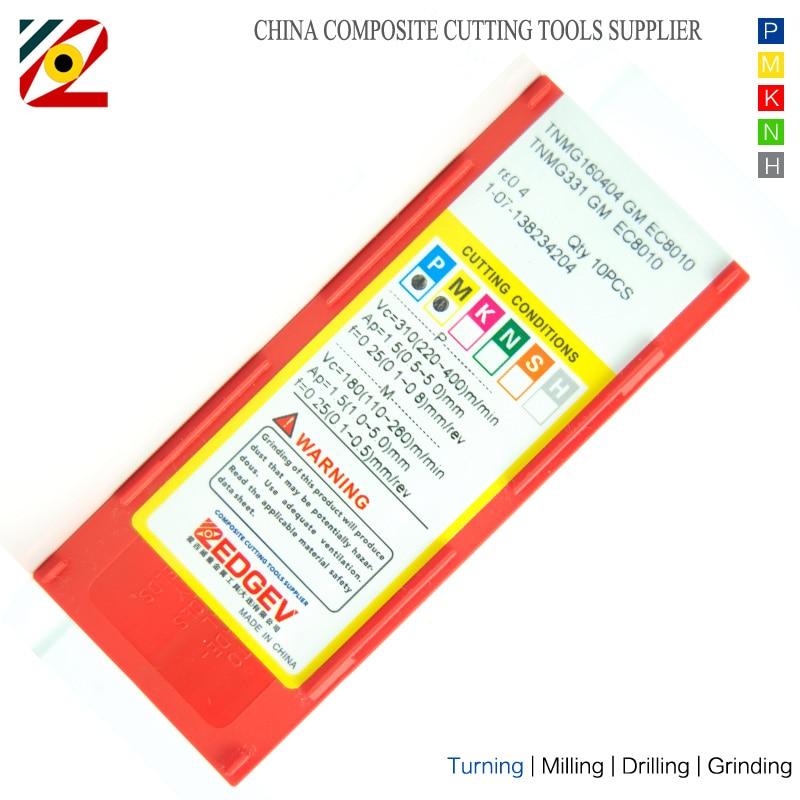 Inserti in metallo duro per utensili CNC TNMG160404 TNMG160408 - Macchine utensili e accessori - Fotografia 6