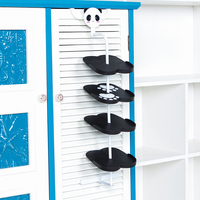 BF040 Home Furniture Cute Shoe Rack Kid Children Cartoon Animal Design Shoe Rack Holder Cabinet Door