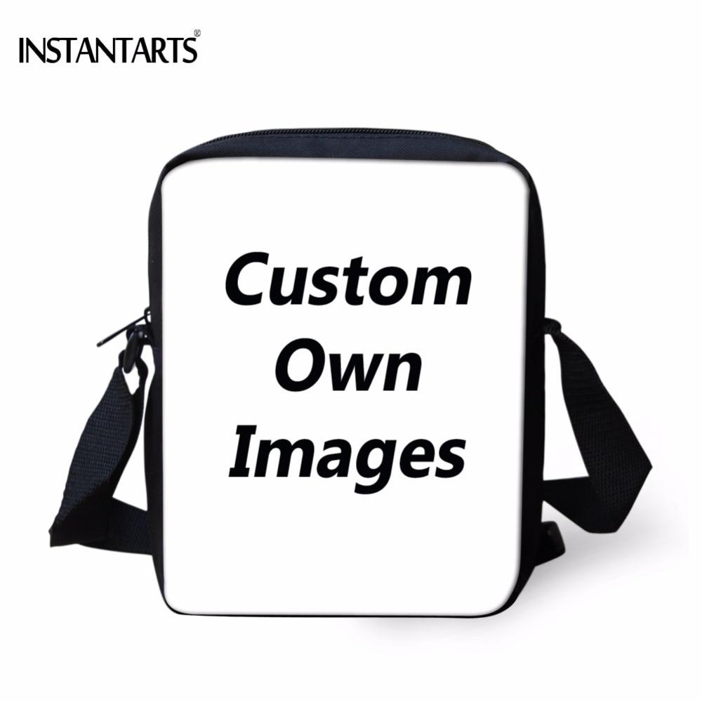INSTANTARTS תמונות בעלות מותאמת אישית - תיקי יד