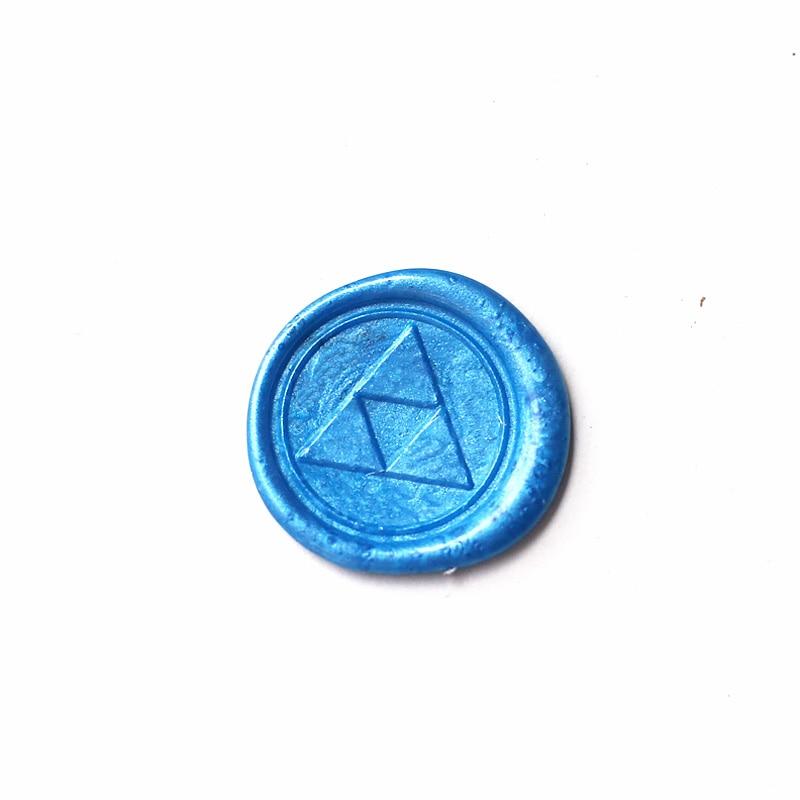 Triangle Wax Seal Stamp,zelda stamp,gift for geek, sealing wax-ws180 legend of zelda triforce wax seal stamp zelda stamp gift for geek sealing wax ws180