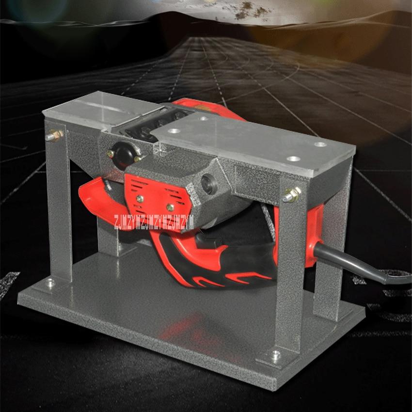 New M1B-KN-82x2 Portable Bench Planer Household Woodworking Tools Electric Planer Flip-chip Desktop Planer 220V 1100W 15000r/min