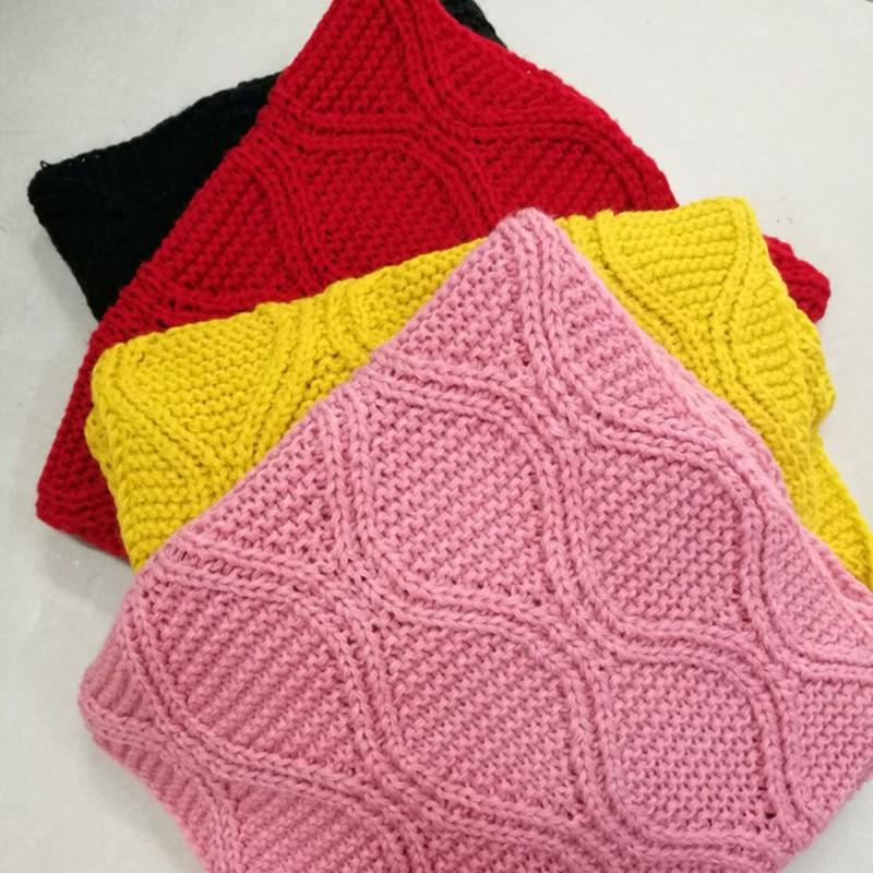 Aliexpress.com: Comprar Invierno mujeres bufanda espesar tejer ...