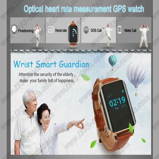 Tracker Precise GPS Kids Elderly Smart Watch A16 GPS WIFI SOS LBS Locate Heart rates mergency SOS call for child old smartwatch