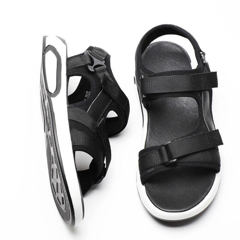 2018 summer gladiator men's beach sandals outdoor shoes Roman men casual shoe flip flops large male good quality light flats