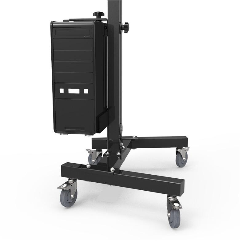 Moving Sit-Stand Desk Workstation TV Mount PS Stand Medical Equipment Trolley Computer Host Keyboard Holder Bracket W833