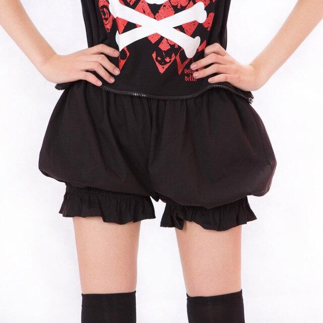 Pantalooms Kawaii Cosplay Lolita Bloomers Cortos para Las Mujeres 5 Colores