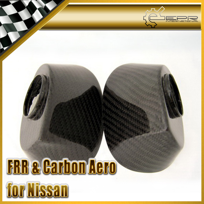 EPR Car Styling Carbon Fiber OEM Side Mirror Base Stand For Nissan R35 GTR LHD new 2pcs side mirror cover for nissan skyline r34 gtt gtr carbon fiber car accessories car styling