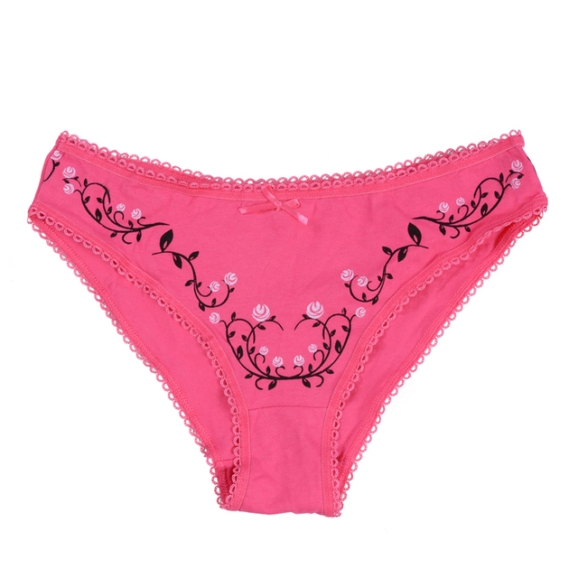 Cotton underwear women briefs bragas thongs sexy panties