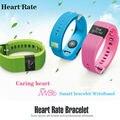 Nueva JW86 del ritmo cardíaco Smartband Bluetooth 4.0 pulsera inteligente pulsera rastreador de Fitness para iOS Android ( TW64 versión mejorada )