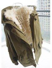 Куртка хлопок — мягкий, свободного покроя шерсть пальто верхней одежды ватные женское утолщение средний — длинная