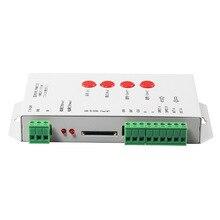 2012 старая версия T-1000S, светодиодный контроллер пикселей sd-карты; SPI 2048 пикселей управления Светодиодный; только поддерживает Светодиодный модуль для правки версии 2012