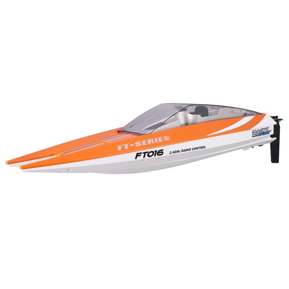 Feilun FT016 RC bateau 30 km/h haute vitesse bateau de course télécommande flip refroidissement par eau hors-bord électrique jouet comme cadeau pour les enfants