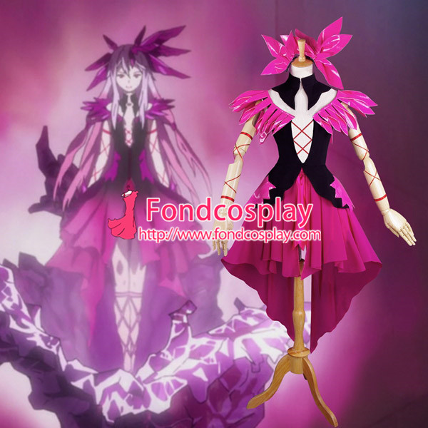 Free Shipping Guilty Crown Inori Yuzuriha Outfit Dress Cosplay Costume custom-made