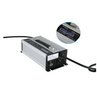 1200W battery charger For Electric Forklifts 12v 40a 50a li ion/lead acid battery charger
