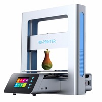 high quality Touch LCD High Precision Patented Lattice Platform 3d printer kit 3D Printer Machine