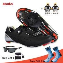 Кроссовки Велоспорт обувь углеродного волокна дышащий дорожный велосипед самоблокирующимся велосипед обувь Zapatillas Ciclismo спортивные беговые кроссовки