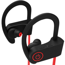 Bilateral over-the-ear wireless Bluetooth headset stereo in-ear waterproof and sweat-proof sports headset vivanco stereo headset on ear 36671