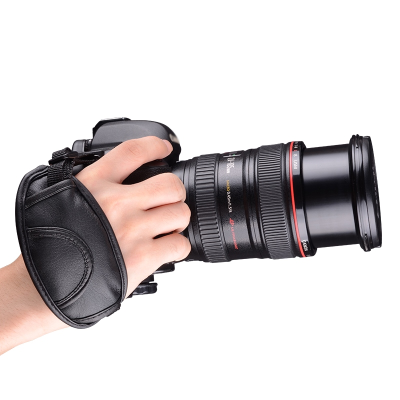 Best Quality Universal Dslr Camera Leather Hand Strap Grip