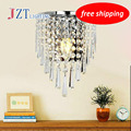 Z LED Crystal Wall Lamp for Bedside Simple Bedroom Light with American Style Decoration for Sitting room&Stairs&Corridor