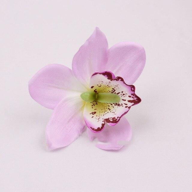 Silk orchid flower heads artificial flowers 12cm for wedding holiday silk orchid flower heads artificial flowers 12cm for wedding holiday supplies accessories diy flowers 50pcs mightylinksfo