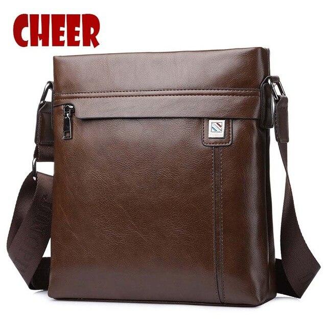 ebe7b67beb0d Fashion shoulder bag PU leather Men s Messenger bags Designer high quality  Small square Crossbody travel bag
