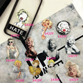 Acrylic Badge Marilyn Monroe HARAJUKU Brooch Accessory for Scarf Pin Up Women Bag Collar Tip Punk Jewelry ab96