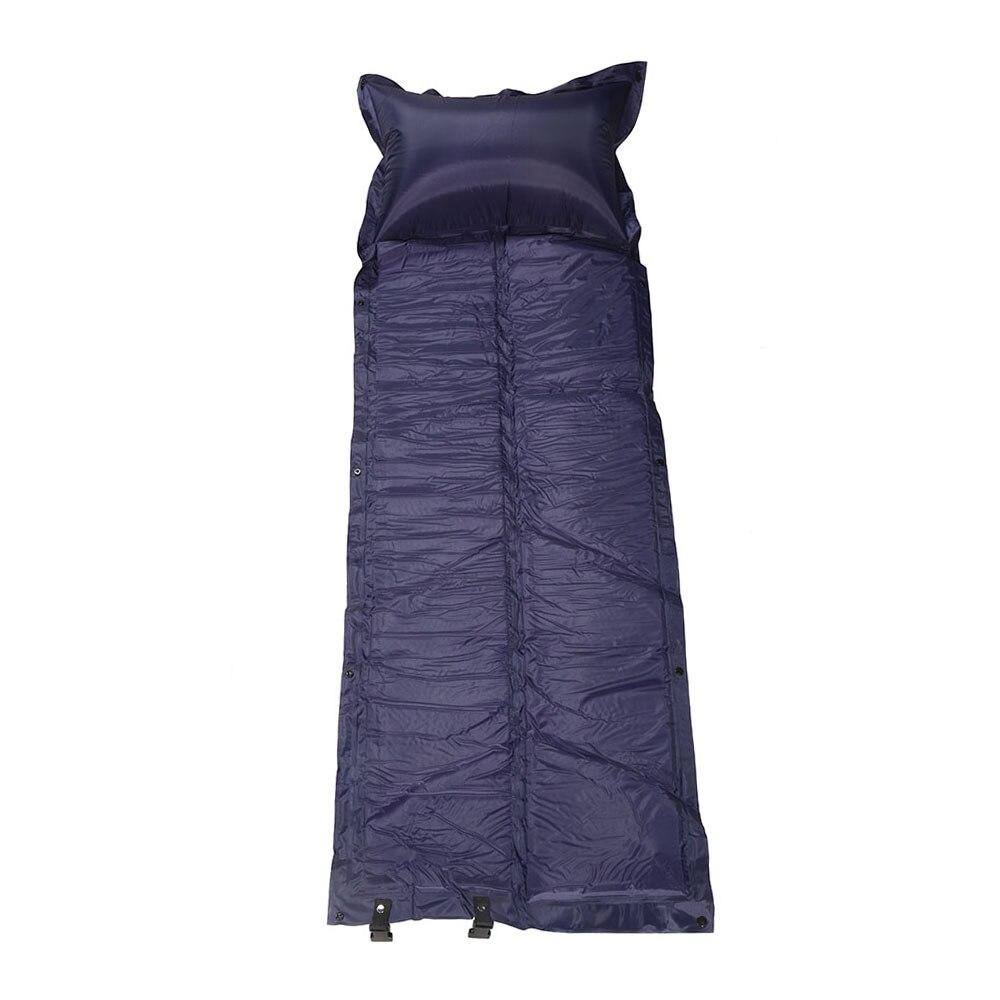 FLYTOP Self-Inflating Mattress Inflatable Sleeping Bed with Pillow Outdoor Pad <font><b>Air</b></font> Mat Mattress Tent Picnic Camping Hiking Mat