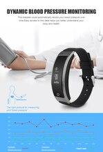 Монитор сердечного ритма I8 Bluetooth SmartBand кислорода в крови браслет амбулаторно крови Давление браслет Водонепроницаемый IP67 0.66 «oled