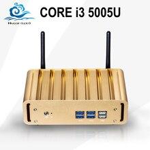 Лидер продаж Мини-ПК компьютер Intel Core i3 5005U HD Графика 5500 мини настольных Computador Окна 10 для офиса игровой HTPC ТВ коробка