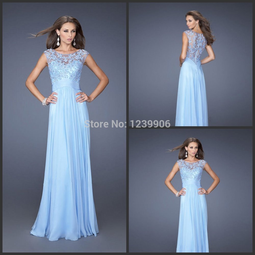 Ice blue lace dress images galleries for Blue lace wedding dress