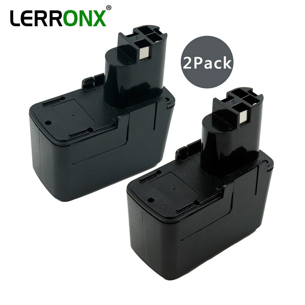 LERRONX 2 pièces nouvelle batterie Rechargeable 12 V 2.0Ah ni-cd remplacement pour Bosch outils électriques BAT011 BH1214H BH1214L BH1214MH H1214N