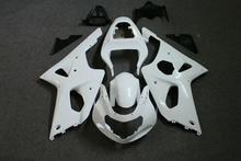 ZXMT Motorcycle Fairing Kit for Suzuki GSXR1000 2000-2002 K1 Unpainted ABS Injection Bodywork 2001