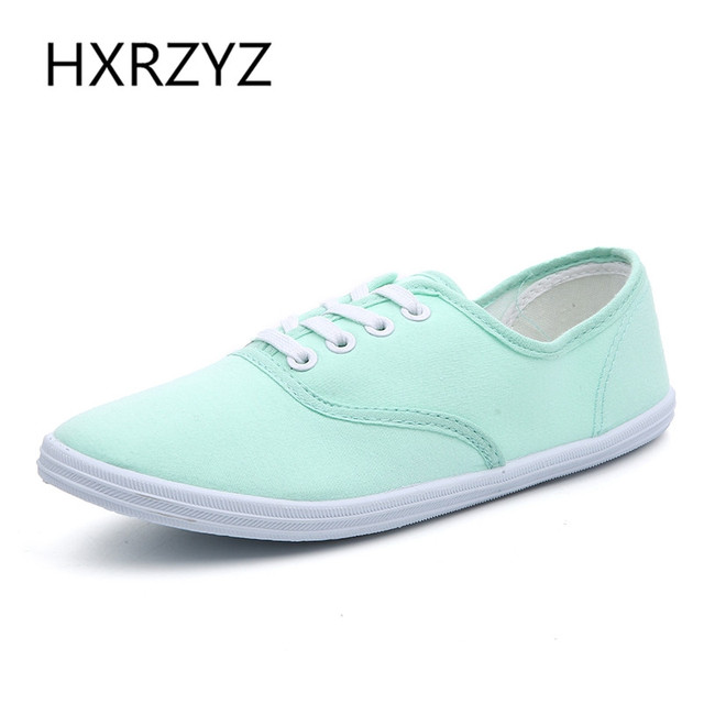 a875ed90ccf Lady candy color flat shoes with non slip cow muscle casual shoes new women  shoes multicolor canvas shoes Large size 35 42-in Women's Vulcanize Shoes  ...