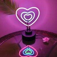Colorful Rainbow Led Neon Sign Neon Sign LED Tube Handmade Visual Artwork Bar Club KTV Commercial Party Wedding Kids Room Night