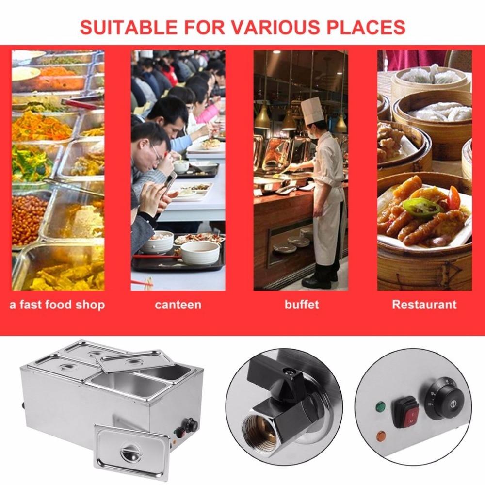 Food Warmer Heating Tank (11)