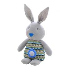 1PCS 48CM, Appease Plush Rabbit Toys, Plush Rabbit Luminous Accompany Sleep Doll, Baby Toys.