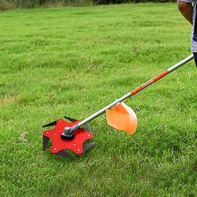 High quality Lawn Mower Trimmer Head Manganese Steel Alloy Six-blade Hit Grass Garden Blade