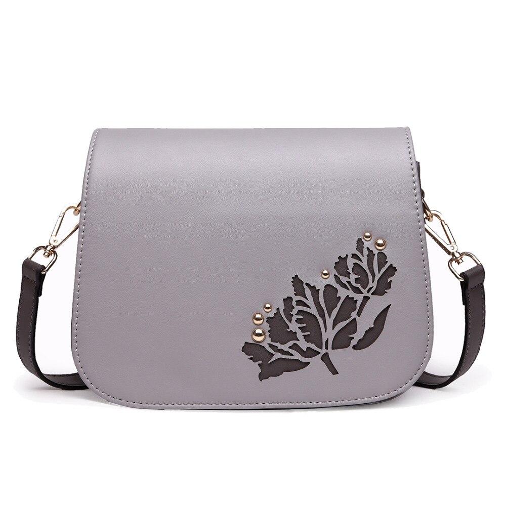 New fashion Miss Lulu Leather Look Cross Body Satchel Bag Messenger bags Flap bags
