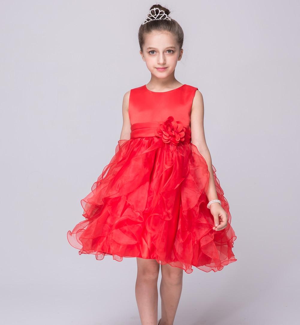 ФОТО wear a  on behalf of 2016 summer new child children vest tutu princess dress girls dress