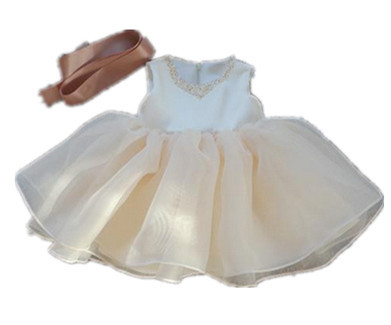 BABY WOW Baby Girl Clothes 1 Year Birthday Dress Vestido Infantil for New Born 10T Infant