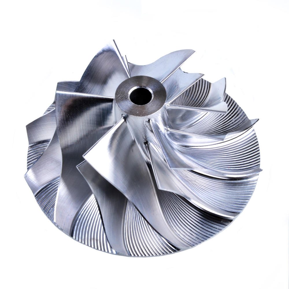 Заготовки Турбо компрессор колесо кинугава 39.61/56.02 мм 6+6 Нижняя Общая высота для Garrett патрон турбонагнетателя gt2256 для Мерседес Бенц 701374-0003