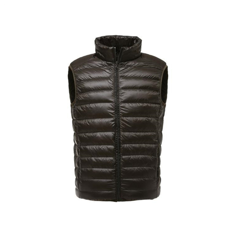 Image 3 - FGKKS Fashion Brand Men Vest Jacket Waistcoat Down Jacket 2019 Autumn Winter Male Coat Solid Color Sleeveless Casual Men's Vest-in Down Jackets from Men's Clothing
