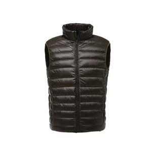 Image 3 - FGKKS Mode Marke Männer Weste Jacke Weste Unten Jacke 2020 Herbst Winter Männlichen Mantel Normallack sleeveless Beiläufige männer weste