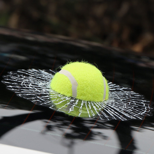 3D Naklejki Samochodowe Śmieszne Auto Car Styling Uderza Karoserii Naklejki Okno Samoprzylepna Baseball Tenis Piłka Naklejka Akcesoria samochodowe