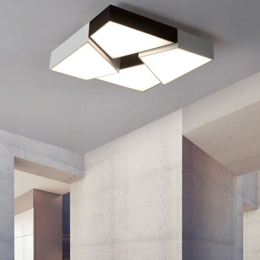 Deckenleuchten Moderne Decke Lichter Für Wohnzimmer Schlafzimmer Leuchte Runde Oberfläche Montiert Led-deckenleuchte Startseite Dekorative Lampenschirm Deco